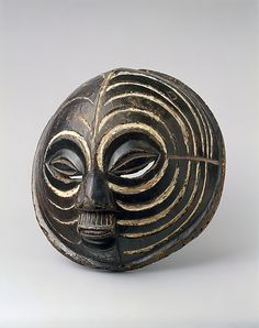 Mask (Kifwebe) Date: 19th–mid-20th century Geography: Democratic Republic of the Congo Culture: Luba peoples Medium: Wood, pigment
