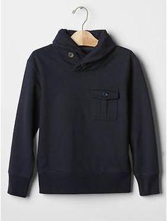Gym shawlneck sweatshirt | Gap