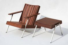 Deckster - Modern Adirondack Chair in Rosewood ($750) | Furniture ...