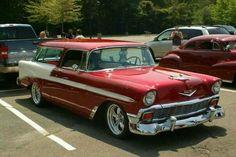 57 Chevy Bel Air, Chevrolet Bel Air, Classic Trucks, Classic Cars, Detroit Steel, Chevy Nomad, Car Station, Car Trailer, Hot Rod Trucks