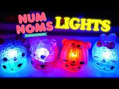 Num Noms Lights Series 1 FULL Case Glow in Dark Blind Box Toys - YouTube