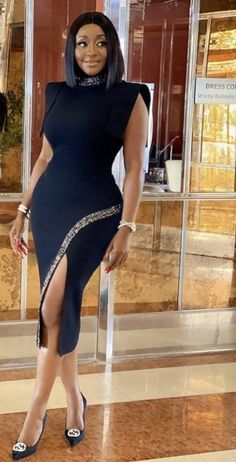 Stylish Work Outfits, Classy Outfits, Chic Outfits, Fashion Outfits, Vetement Fashion, Queen Fashion, Latest African Fashion Dresses, Girls Fashion Clothes, Professional Outfits