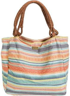 Style & Co Stripe Straw Beach Bag Tote, Only at Macy's - Blue ...