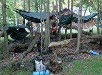 Affordable camping hammock