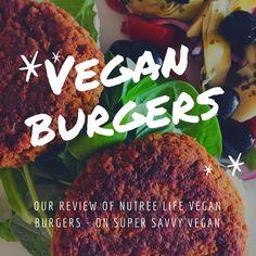 My review of a new #vegan burger mix from Nutree Life. Burger Mix, Vegan Burgers, Beef, Chicken, Food, Vegan Patties, Meat, Essen, Meals