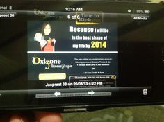 I will get in best shape of my life by 2014. U aim nd OXIZONE fulfills