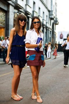 On the Street….Two for Fashion, Milan « The Sartorialist