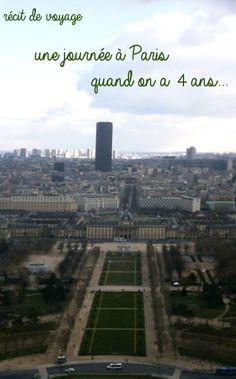 #Paris quand on a 4 ans.  #France #toureiffel #récitdevoyage #voyageenfamille