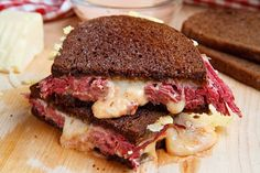 Reuben Sandwich - haven't had one in a long long time, but do love the taste of a Reuben