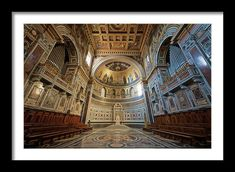 Joan Carroll Framed Print featuring the photograph Bishop's Chair Rome Italy by Joan Carroll #rome #italy #church #cathedral #basilica #photography Visit joan-carroll.pixels.com for more #art #photography #fashion and #homedecor items from #ITALY and around the world! @joancarroll +JoanCarroll
