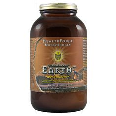 Earth Powder, also from HealthForce Nutritionals (see Vitamineral Green).  My favorite way to take this is in very warm water at night, eaten like a broth... it is immune boosting and great for digestion and detoxification. It has such a familiar, grounding taste, my ancestral blood lines sigh every time.
