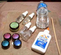 DIY Shimmer Mists