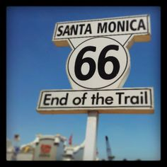 End of Route 66! Been on the bucket list many years, want to do the whole drive..