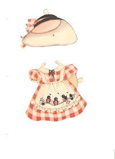 Miss Missy Paper Dolls: Polly Pepper Paper dolls