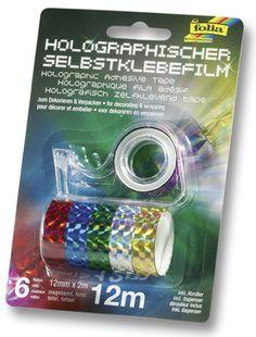 Die holografische Folie gibt es auch in Kleinformat und ist selbstklebend. Mehr unter http://www.folia.de/index.php?id=140