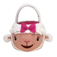 Doc McStuffin's Lambie Jumbo Plush Basket Doc Mcstuffins, Plush, Basket, Walmart, Christmas Ornaments, Holiday Decor, Products, Doc Mcs, Christmas Jewelry