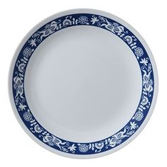Corelle Livingware.The original break and chip resistant glass dinnerware. Trust that it can stand up to the rigors of everyday life and still look great. 3 year replacement warranty against breaking and chipping!  - http://kitchen-dining.bestselleroutlet.net/product-review-for-corelle-livingware-true-blue-8-5-lunch-plate-set-of-4/