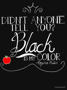 Black is my color (white font, American spelling) by rainilyahead