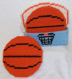 1007 Basketball Coasters by CraftsbyRandC on Etsy, $10.95