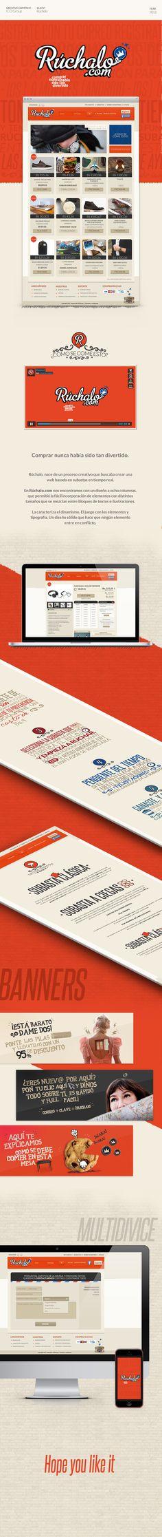Diseño Web para Rúchalo.
