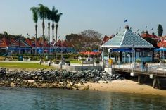 Coronado Ferry Landing.  The Coronado Cupcakery is in the shops @ the landing.  I get my birthday cupcake there every year!  My wish is to one year catch the sunset @ the beach while enjoying my birthday sundae & cupcake!  Ahh. . . my idea of an awesome b-day celebration!