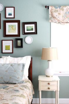dark teal color for the wall - Scenic Drive from Benjamin Moore.