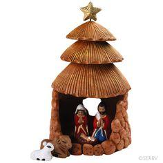 Christmas Cabana Nativity
