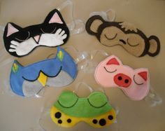 Deep into my annual pajamas-robes-slippers project for my grandkids, I have come up with a new variation this year--sleep masks!  I actual...