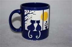cats in the window coffee mug