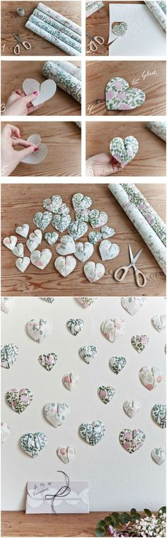 Wallpaper Crafts, Paper Wallpaper, Wallpaper Samples, Wall Wallpaper, Wallpaper Ideas, Heart Wallpaper, Trendy Wallpaper, Diy Projects For Couples, Easy Craft Projects