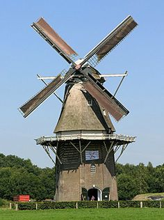 Flour mill De Vilsterse Molen, Vilsteren, the Netherlands