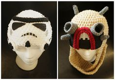Now it's easy to swap your Boba Fett hat for a Stormtrooper hat. Our pal BeeBeeKins over at Etsy is up to her old tricks and has added nicely knitted Stormtrooper headgear to her varied list of offerings. If it's time to hang up the bounty hunter business for a while, you can preorder a Stormtrooper helmet-hat for $49.99, and you'll get it sometime in June by Edward Moyer