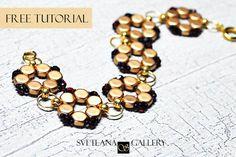 Bracelet Tutorial with Honeycomb Beads