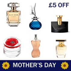 Visit Our In Store Tyrers Fine French Fragrance Counter For Our Special Mother's Day Treat.  Receive £5 Off Any Of Our Fragrance Counter Ladies Perfumes.  *Offer Valid Until 29th March 2014 (Tyrers Fragrance Counter Only, Ladies Fragrances Only) How to get your £5 Off: Simply follow the link and print off our Mother's Day Newsletter