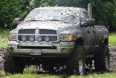 Dodge truck...after mudding of course