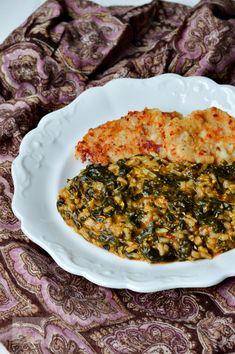 Veggie Recipes, Cooking Recipes, Chorizo, Palak Paneer, Paella, Quiche, Risotto, Macaroni And Cheese, Deserts