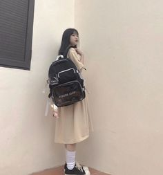 Ulzzang, Cool Girl, Boy Or Girl, Hot Outfits, Backpacker, Fashion Backpack, Boys, Hot Clothes, Beautiful