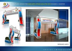 Exhibition Design by Ahmad Zaki at Coroflot.com
