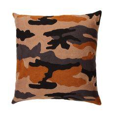 Nushka - 'New Sholto' hand-stitched embroidered cushion £ 225 - Cushions