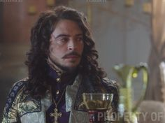 The Musketeers series 3x7. The magnificent Ryan Gage as Louis - no longer the fool.... asks Anne to have a drink with him.Jessica Pope on Twitter