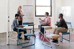Office Furniture Designed To Spark Inspiring, Random Encounters   Co.Design: business + innovation + design