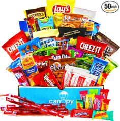Ultimate Back to School College Snacks Gift Box Giveaway {us}... IFTTT reddit giveaways freebies contests