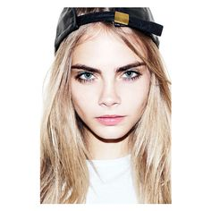 How to Get Perfect Power Brows Like Cara Delevingne | Teen Vogue ❤ liked on Polyvore featuring backgrounds and models