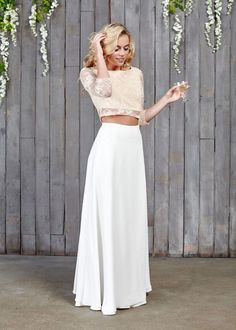 Hammond Bridal Maxi Skirt by House of Ollichon, the perfect gift for Explore more unique gifts in our curated marketplace. Bridal Skirts, Wedding Skirt, Wedding Dress Shopping, Best Wedding Dresses, Wedding Gowns, Alternative Wedding Dresses, Alternative Bride, Bridal Tops, Bridal Jumpsuit