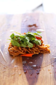 Pad Thai Spring Rolls - great idea and great sauce recipe