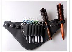 Free Shipping Salon Barber Scissors Bag Scissor Clips Shears Shear Bags Tool Hairdressing Holster Pouch Holder Case Belt B31(China (Mainland))