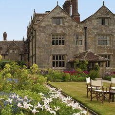 Gravetye Manor, West Sussex. Find this and more country break ideas at Redonline.co.uk