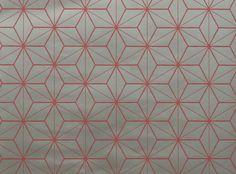Tatami Wallpaper Watermelon - Chervil Wallcoverings : Upholstery Fabrics, Prints, Drapes & Wallcoverings