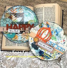 the Colour Press: Mixed Media Cards - chipboard & Cocoa Vanilla Mixed Media Cards, Chipboard, Cocoa, Paper Crafts, Crafty, Projects, Vanilla, Inspiration, Design