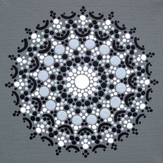 Print of Grayscale Mandala by joypompeo on Etsy, $15.00